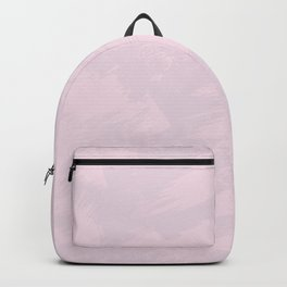Abstract artistic blush pink modern watercolor brushstrokes Backpack