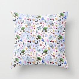 WDW Park Hopper Throw Pillow