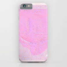 Pink abstract Slim Case iPhone 6s