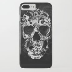 Vintage Skull BW Slim Case iPhone 7 Plus