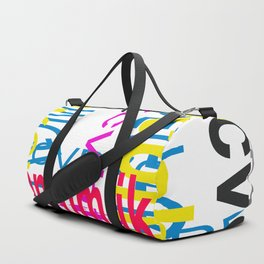 Meeting between ocaissonally letters Duffle Bag