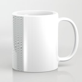 Studded Chevron Stripe on Slate Green Mist 2 Coffee Mug