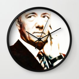 Frank Underwood Wall Clock