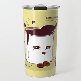 Coffee Mug Addicted To Coffee Travel Mug