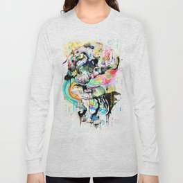 Ink Fight Colors Long Sleeve T-shirt