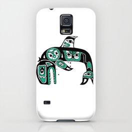 Native American Orca iPhone Case