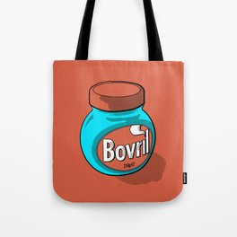 Bovril dreams in tangerine Tote Bag