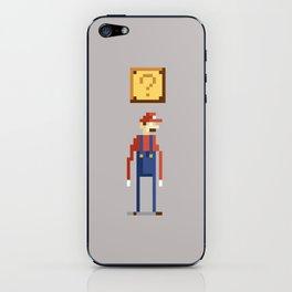 Pixel Plumber iPhone Skin