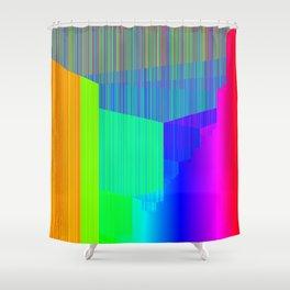 R Experiment 4 (quicksort v2) Shower Curtain