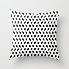 rhombus bomb Throw Pillow