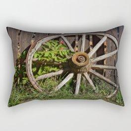 Like a Wagon Wheel Rectangular Pillow