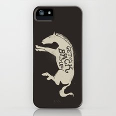 Get Back Up  iPhone (5, 5s) Slim Case