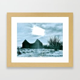 The Harshness of Winter Framed Art Print