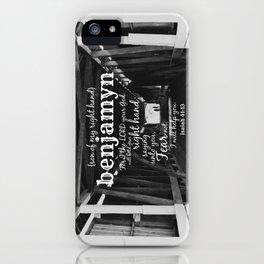 Benjamyn iPhone Case