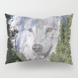 Wolf Mountain Pillow Sham