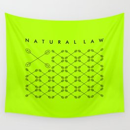 NATURAL LAW Wall Tapestry