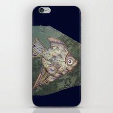 Stone fish iPhone & iPod Skin