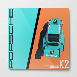 1977 935 Kremer K2 - DRM Nürburgring - Bob Wollek Winner Metal Print