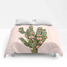 CACTUS AND ROSES Comforters