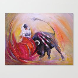 2009 Toro Acrylics 02 Canvas Print