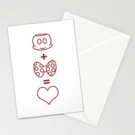 Mickey loves Minnie Stationery Cards