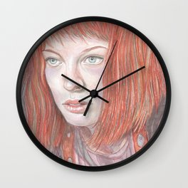 Leeloo - the Fifth Element Wall Clock