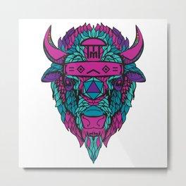 2015 Backwoods Music Festival Buffalo Night Variant Metal Print