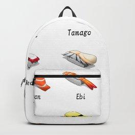 Sushi lover tshirt gift idea  Backpack