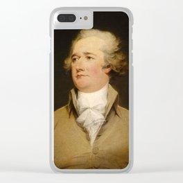 Alexander Hamilton Clear iPhone Case