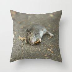 Stuart Little In Trouble Throw Pillow