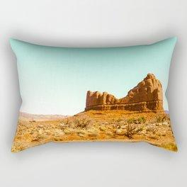 Deserted Rectangular Pillow