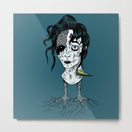 Lost Boy - Wounded Metal Print