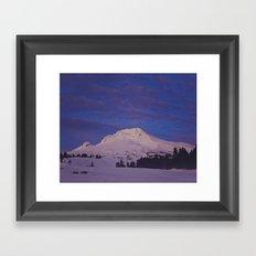 Mt. Hood, Oregon Framed Art Print