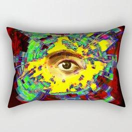 eye in the sky Rectangular Pillow