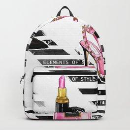 Perfume & Shoes #3 Backpack