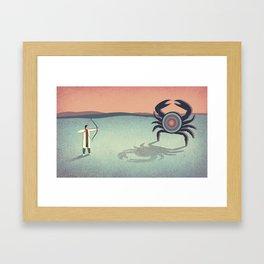 Target Framed Art Print