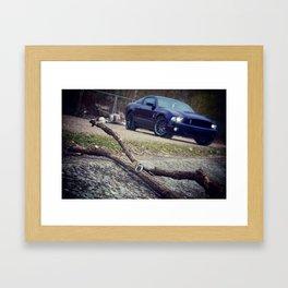 Shelby GT-500 key Framed Art Print