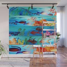 Beautiful Sea Life Wall Mural