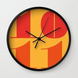 10th November Wall Clock