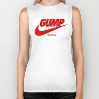forrest gump Biker Tanks featuring Gump- JustDoIt III by IIIIHiveIIII