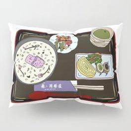 Nara Japanese Lunch Platter Pillow Sham