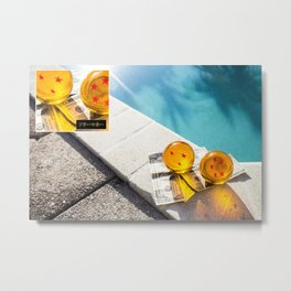 WISHES FOR MONEY. Metal Print