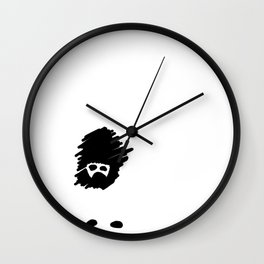 Missing Girl Wall Clock