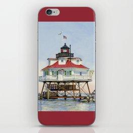 Thomas Point Light iPhone Skin