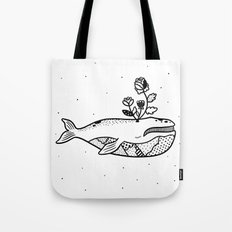 Right Whale Tote Bag