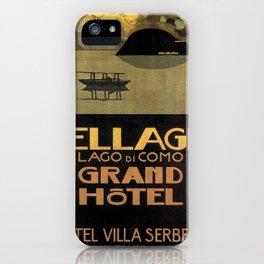 Vintage poster - Lago di Como iPhone Case