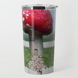 Mushroom House Travel Mug