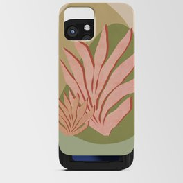 Pink Seagrass iPhone Card Case
