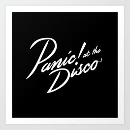 Panic! at the Disco Art Print