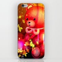 """arnold iPhone & iPod Skins featuring """"Arnold"""" by shiva camille"""
